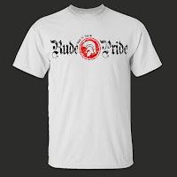 Camiseta Rude Pride Blanca Logotipo