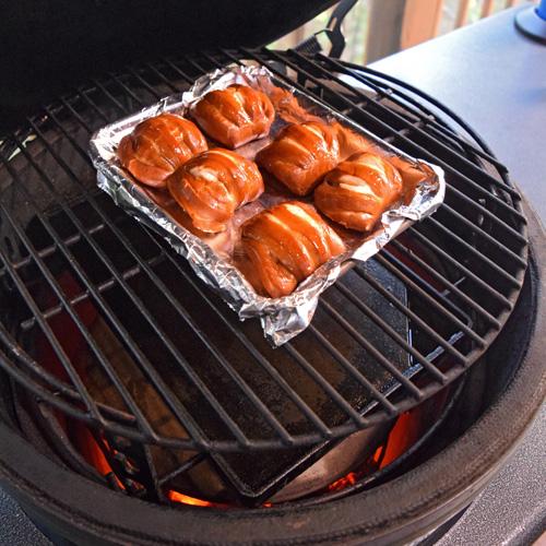 Unsalted pretzel slider buns from Eastern Standard Provisions