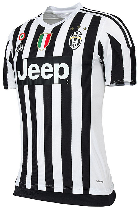 sports shoes 5e127 15d9e Adidas Juventus FC 2015/16 Football Jerseys