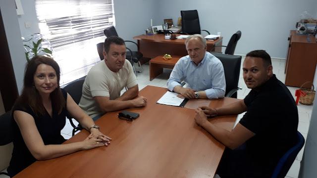 Συνάντηση Ανδριανού με μέλη της Ένωσης Πυροσβεστικών Υπαλλήλων Αργολίδας