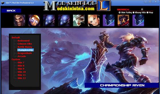 Mod Skin] Championship Riven Free Skin Update PBE ~ Mod Skin LOL