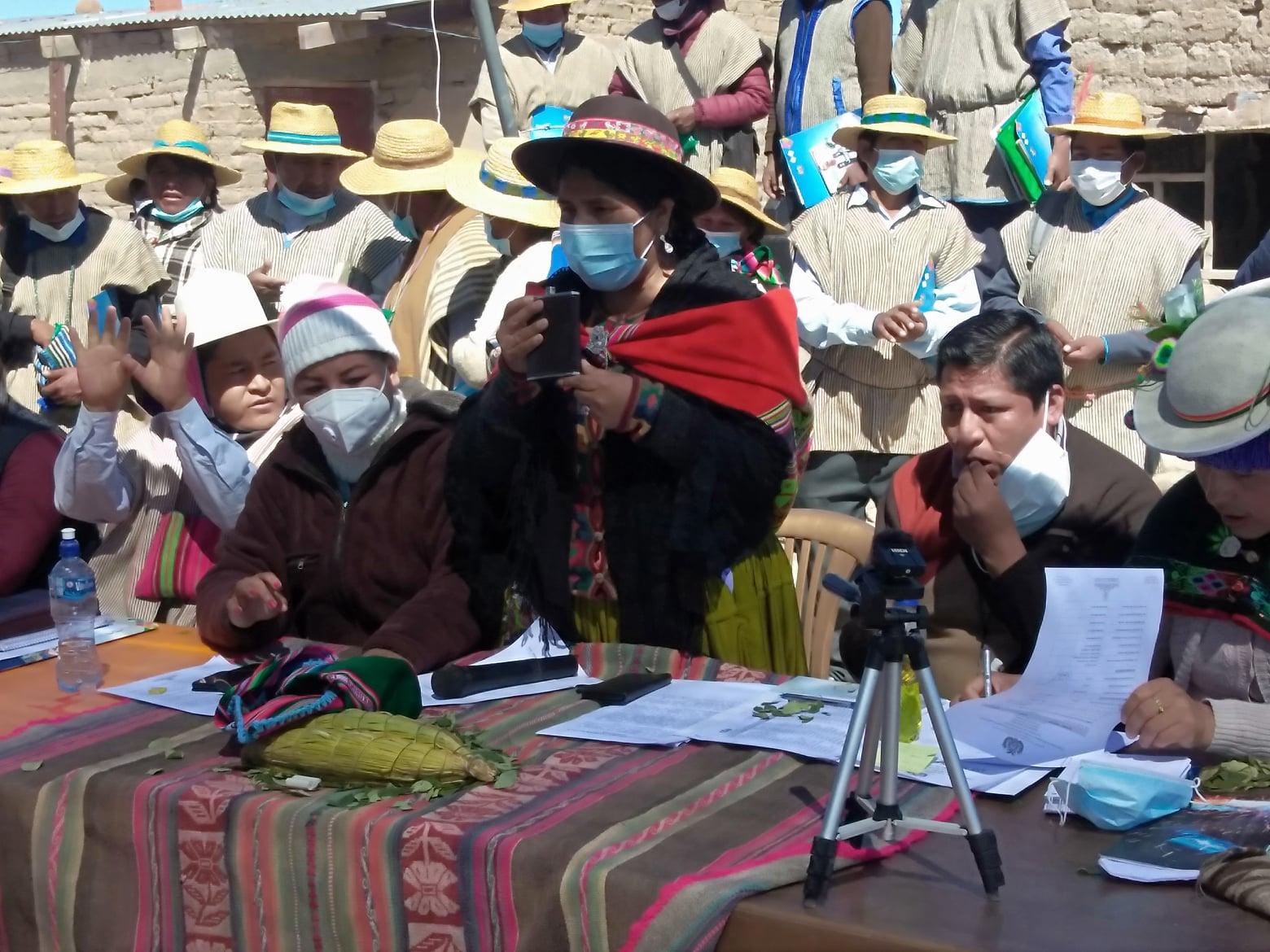 Lero preside la Comisión de Naciones y Pueblos Indígena Originario Campesinos, Culturas e Intercultural de la Cámara de Diputados / FACEBOOK
