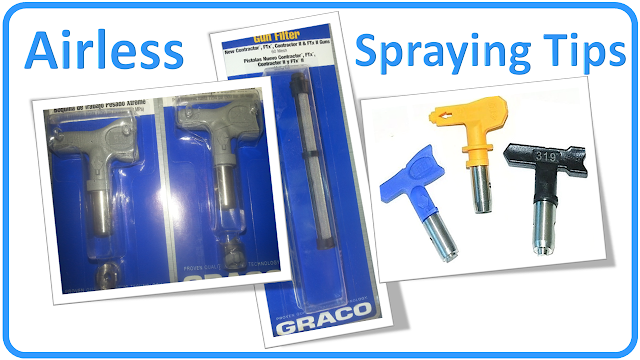 Paint Spray Tip – Airless Paint Sprayer | The Paint Spray Tip / Nozzle GRACO