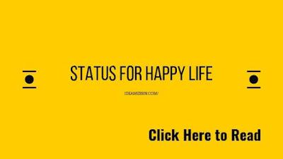 status for happy life