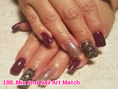 Mix And Nail Art Match