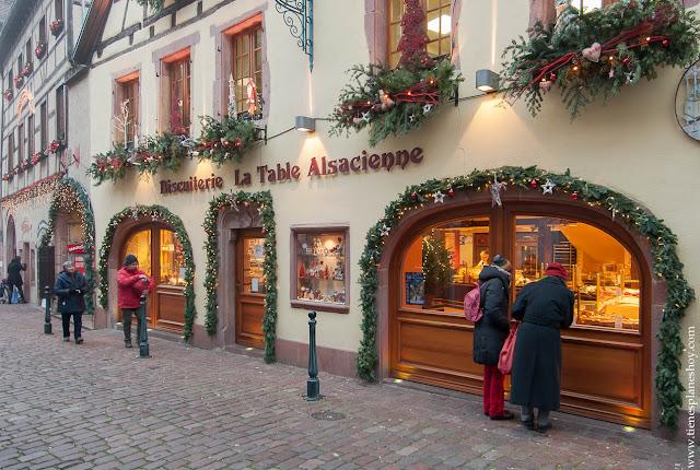 Kauserberg Alsacia Navidad pueblos