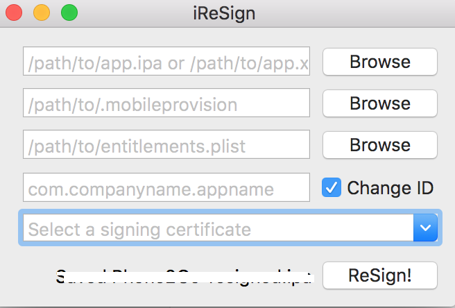 Living Mobile --: iOS how to resign an application