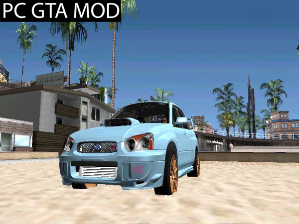 Free Download Subary Impreza STI 2008  Mod for GTA San Andreas.