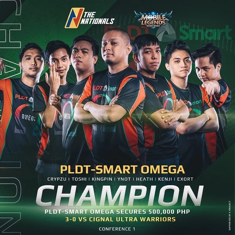 PLDT-Smart Omega Secures Spot at Mobile Legends: Bang Bang Championship