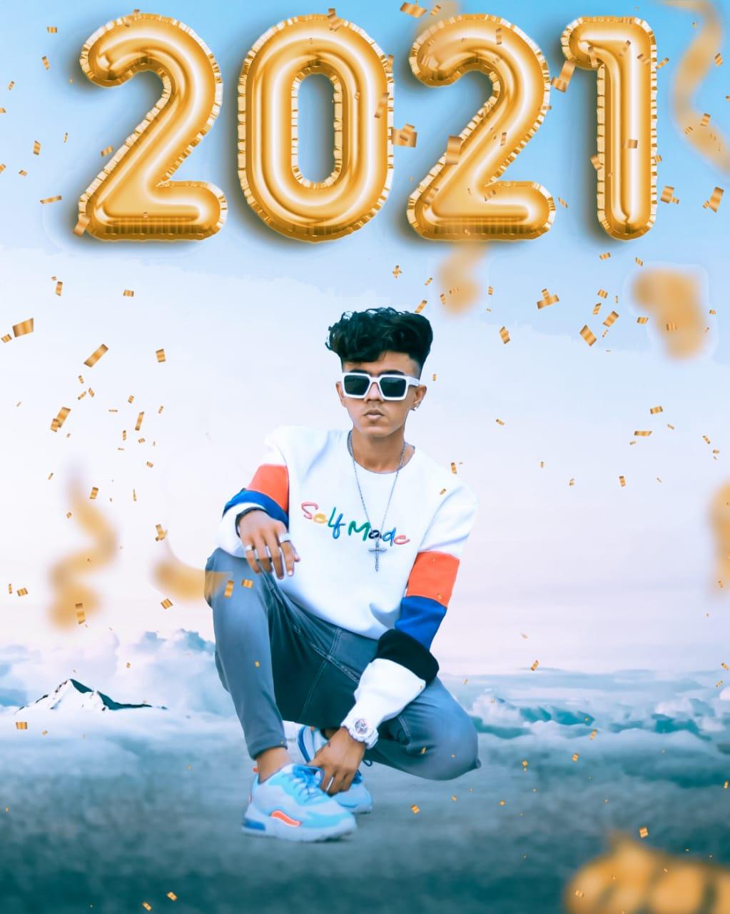 New Year Photo Editing