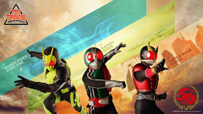 Toei Tokusatsu World To Stream 3 Kamen Rider Movies