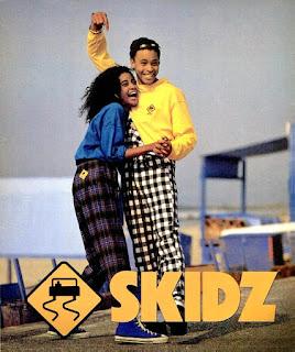 1980s Skidz advert