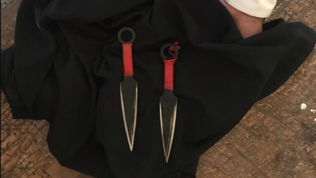 Ini Senjata Ala Ninja yang Dipakai untuk Tusuk Wiranto