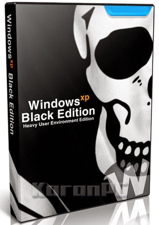 Windows XP Professional SP3 Black Edition