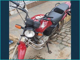 Polícia recupera moto de radialista que foi esfaqueado em Guanambi