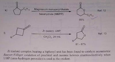 Baeyer Villiger oxidation 3