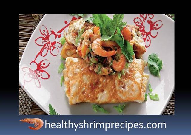 Best shrimp omelet recipe