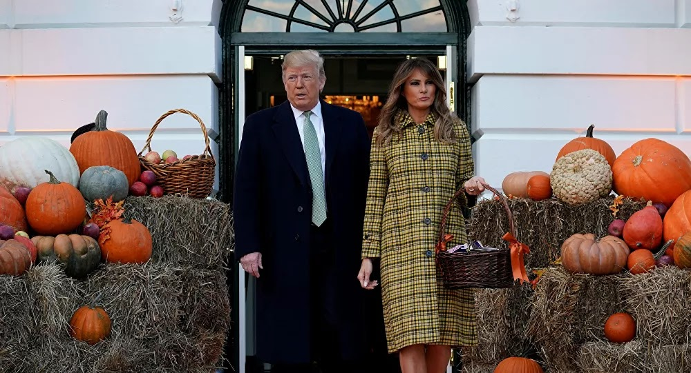 ميلانيا ترامب تحظر أدوات محددة أثناء احتفال البيت الأبيض بالهالوين