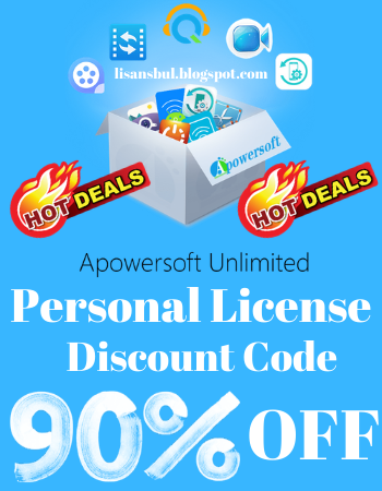 Apowersoft Unlimited Personal License Discount Code