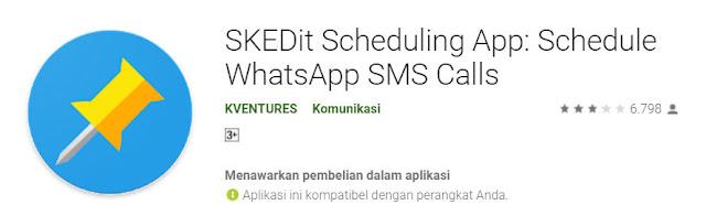 cara menjadwalkan pesan whatsapp
