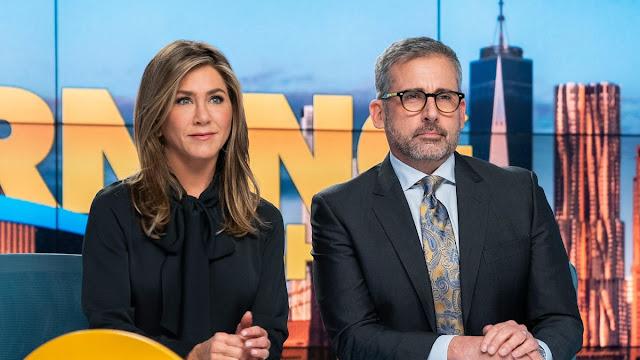 Jennifer Aniston, Steve Carrell en The Morning Show