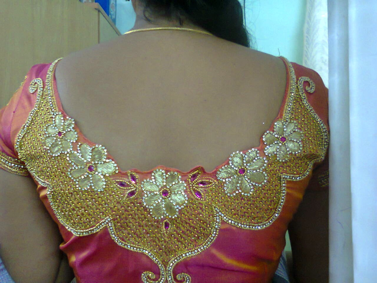 Now We Are The Best Rated For Hand Embroidery And Machine Works On Bridal Blouses Wedding Sarees In Chennai Also Do