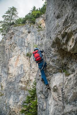 Silberkarklamm Rundweg Wilde Wasser und Klettersteige  Ramsau am Dachstein   Hias-Klettersteig  Siega-Klettersteig 06