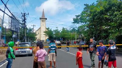 Kepala BNPT: Pelaku Bom Bunuh Diri di Makassar Suami Istri