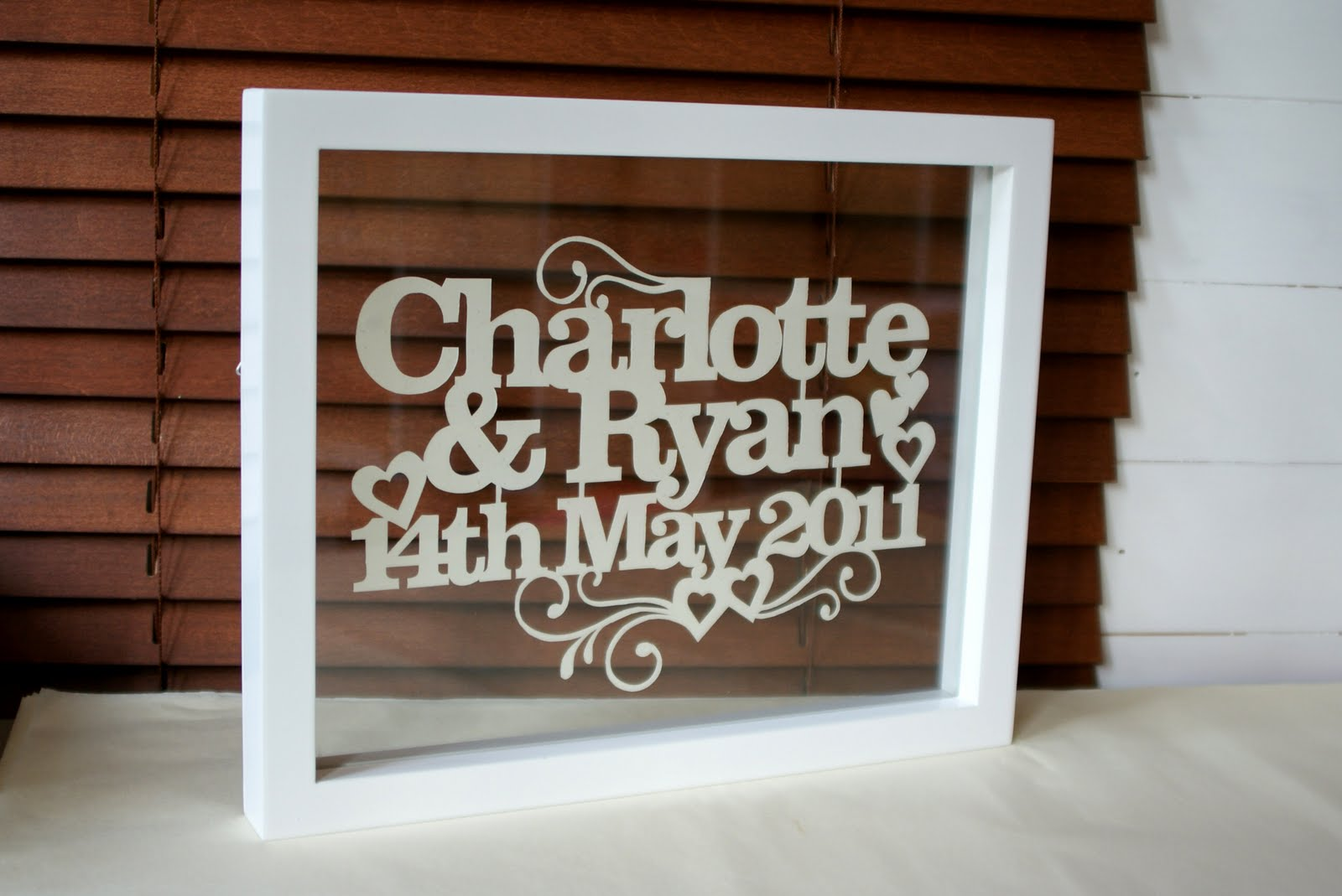 Perfect Wedding Gift Ideas: Kyleighs Papercuts: The Perfect Wedding Gift