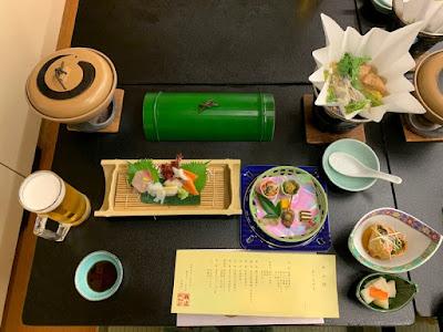 瀬波ビューホテル 夕食
