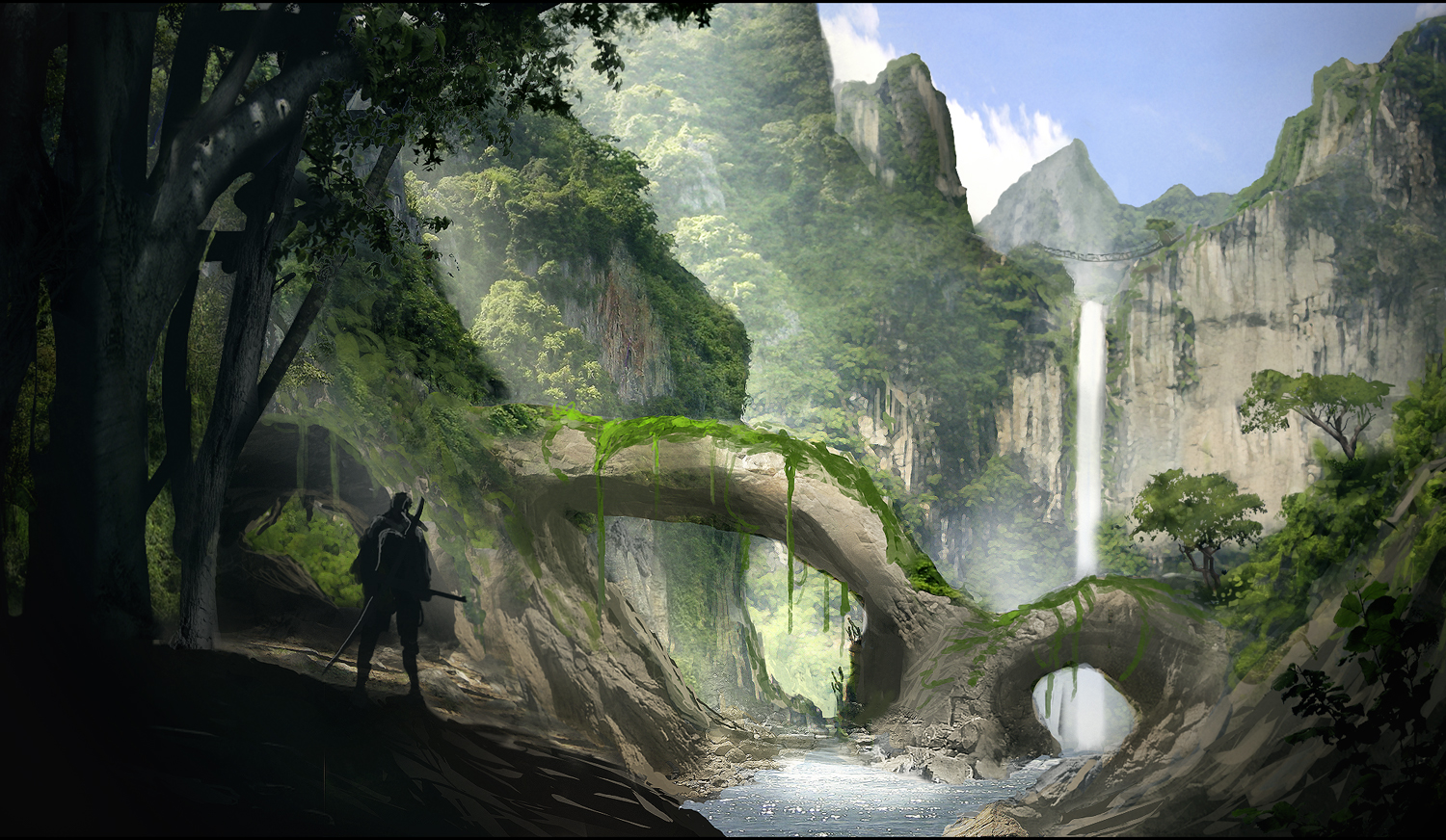 A Matte Painting Journey