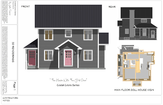 House Plan Biscuit Box
