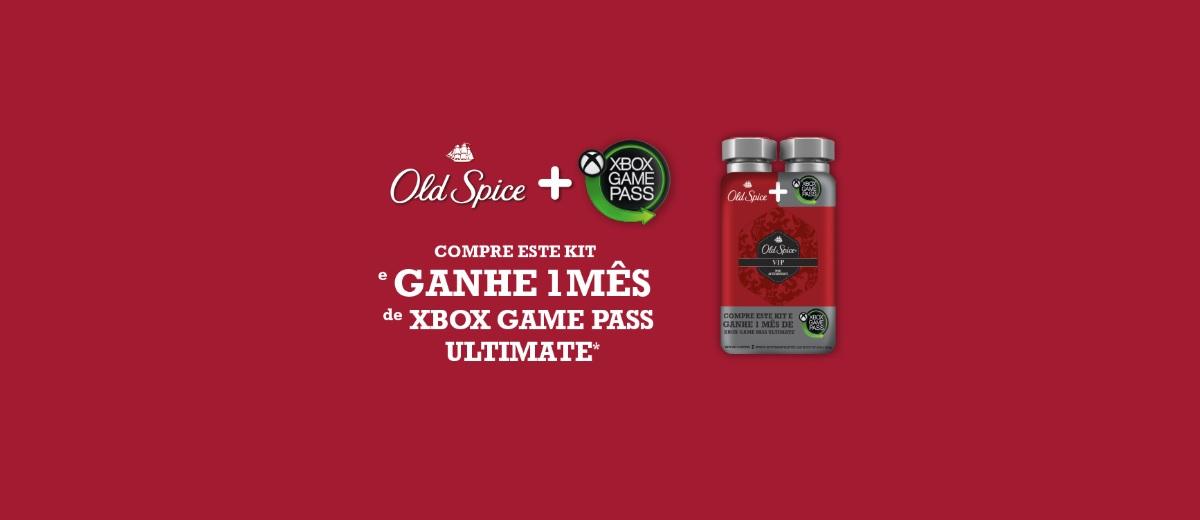 Promoção Old Spice Compre Ganhe 1 Mês Xbox Game Pass Ultimate
