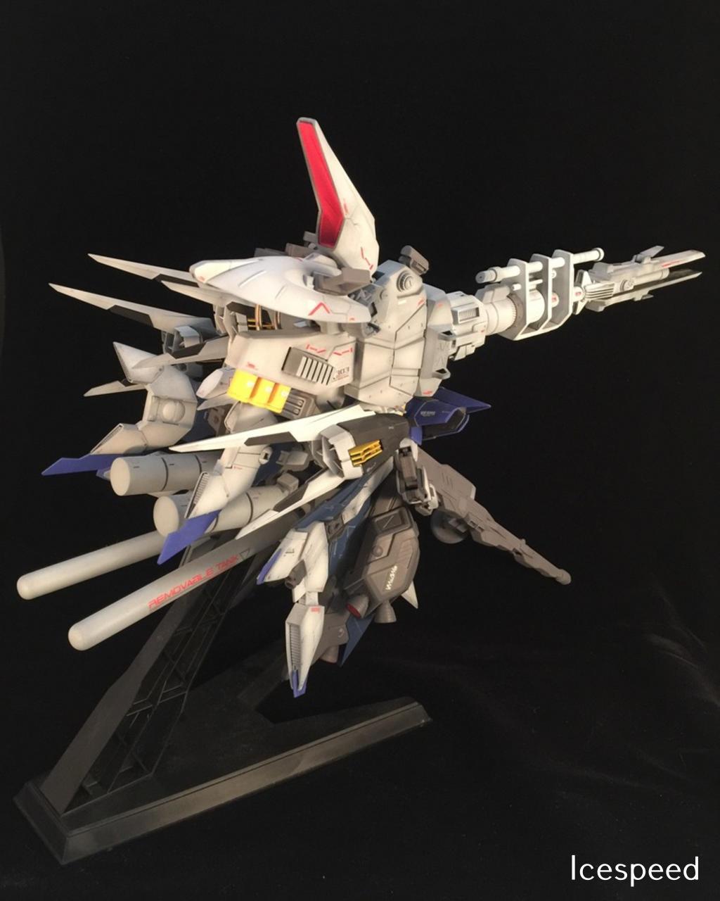 Custom Build: MG 1/100 Aegis Deep Striker