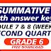 QUIZ 4-Summative Test GRADE 6 Q2