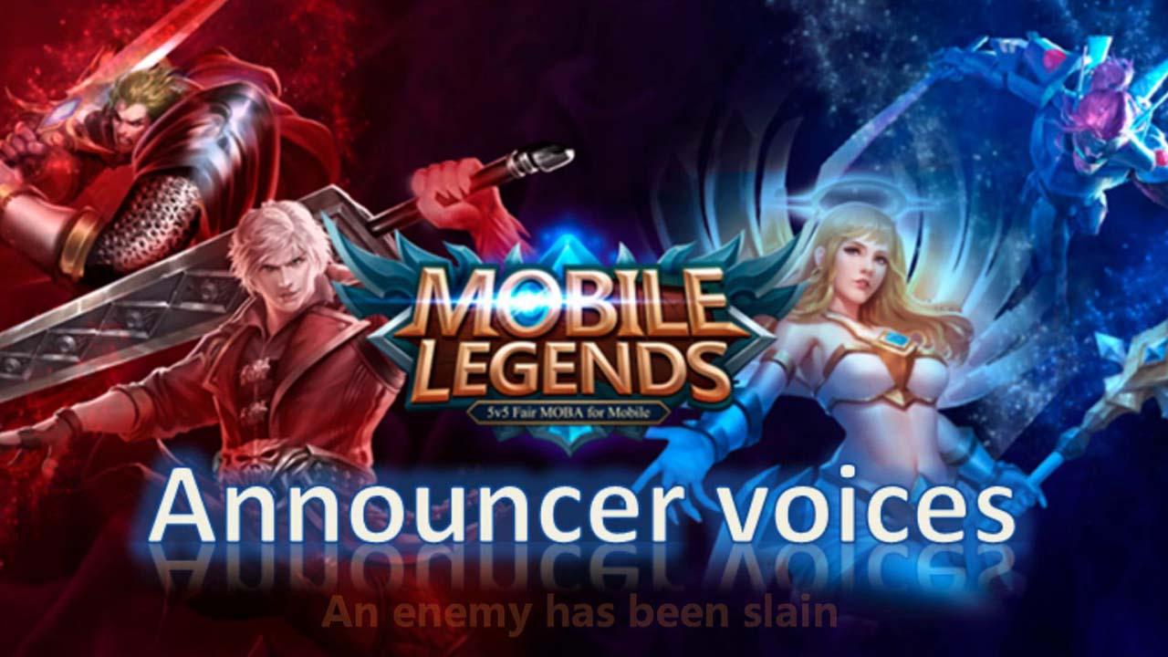 Kata-Kata Plus Suara Host Atau Announcer Voice Mobile Legends Dan Artinya