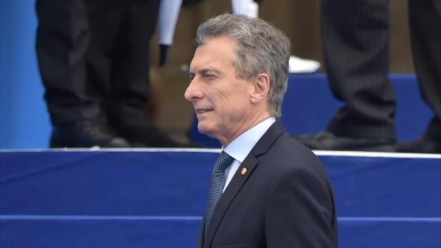 """""""Macri no es capaz de evitar caída de peso y recesión económica"""""""