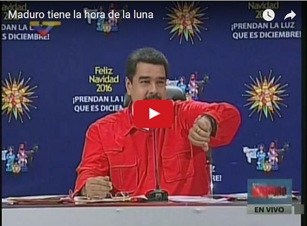 Nicolás Maduro usa dos relojes en una muñeca