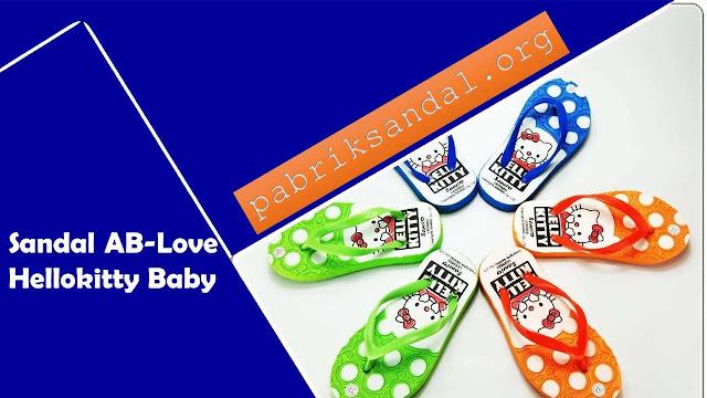 Sandal Spon baby | Sandal AB Love- Hellokitty Baby Murah