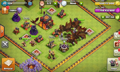 Update Terbaru Clash Of Clans Mod FHx Private Server Apk v8.332.16