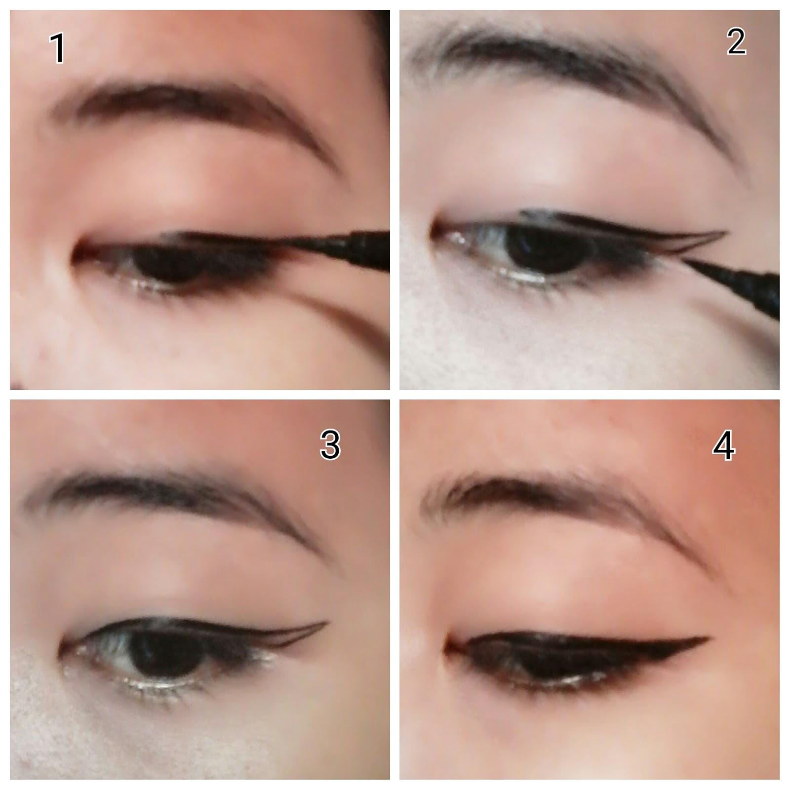 6 tips mudah memakai eyeliner bagi pemula foto cantik