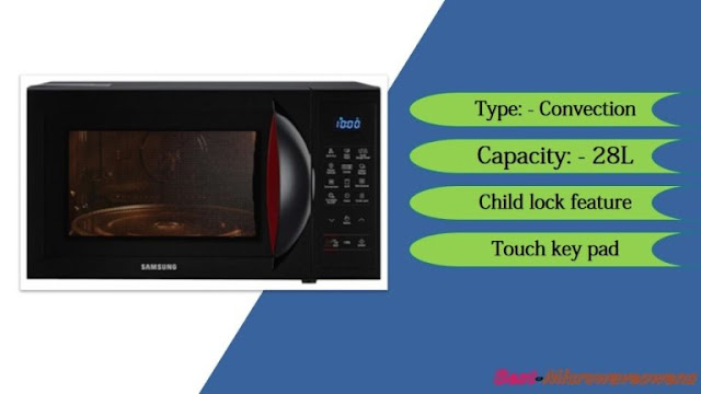Samsung CE1041DSB2/TL - best microwave oven