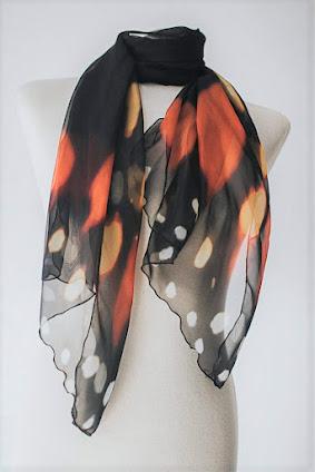 Unique Soft Chiffon Scarves Shawls Wraps With Beautiful Patterns