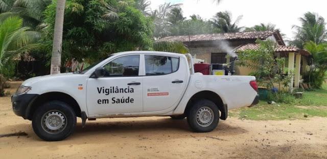 Conde confirma 2º caso de malária; fumacê combate mosquitos