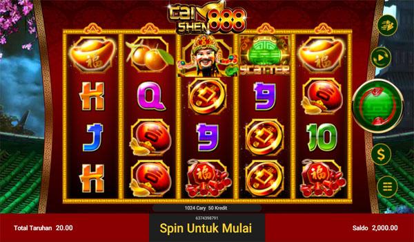 Main Gratis Slot Indonesia - Cai Shen 888 Spadegaming