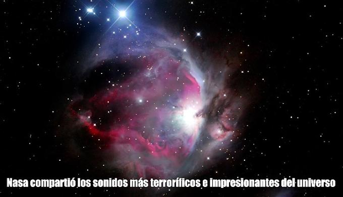 Nasa compartió los sonidos más terroríficos e impresionantes del universo