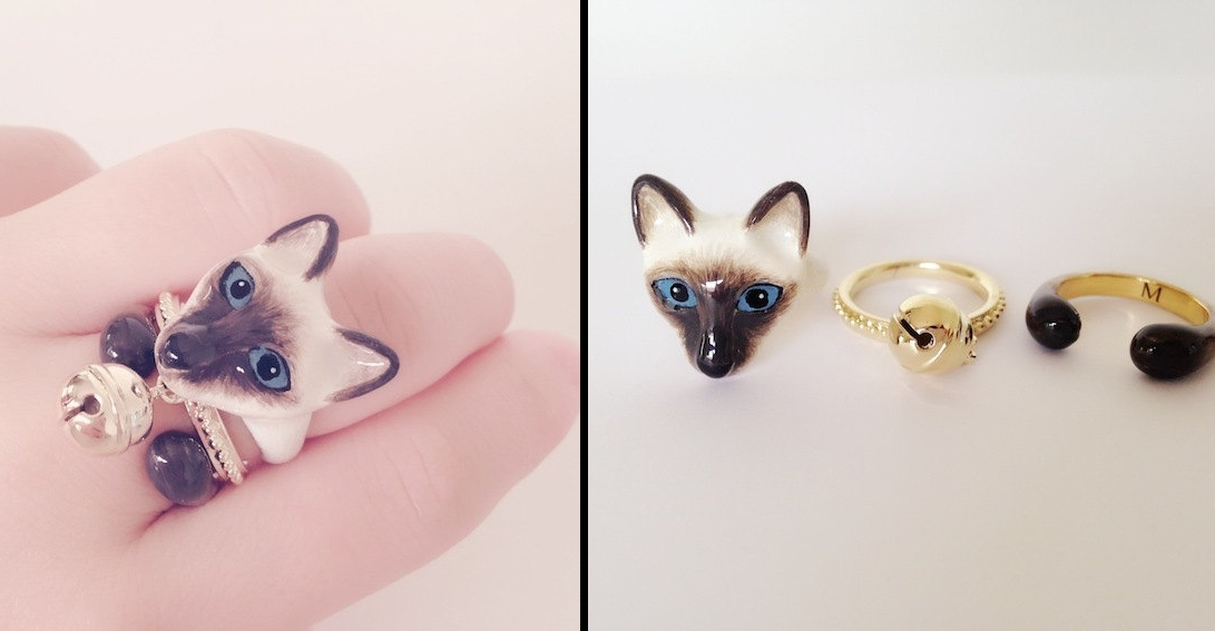 10-Siamese-Cat-Mary-Lou-Three-Piece-Animal-Jewellery-Rings-www-designstack-co