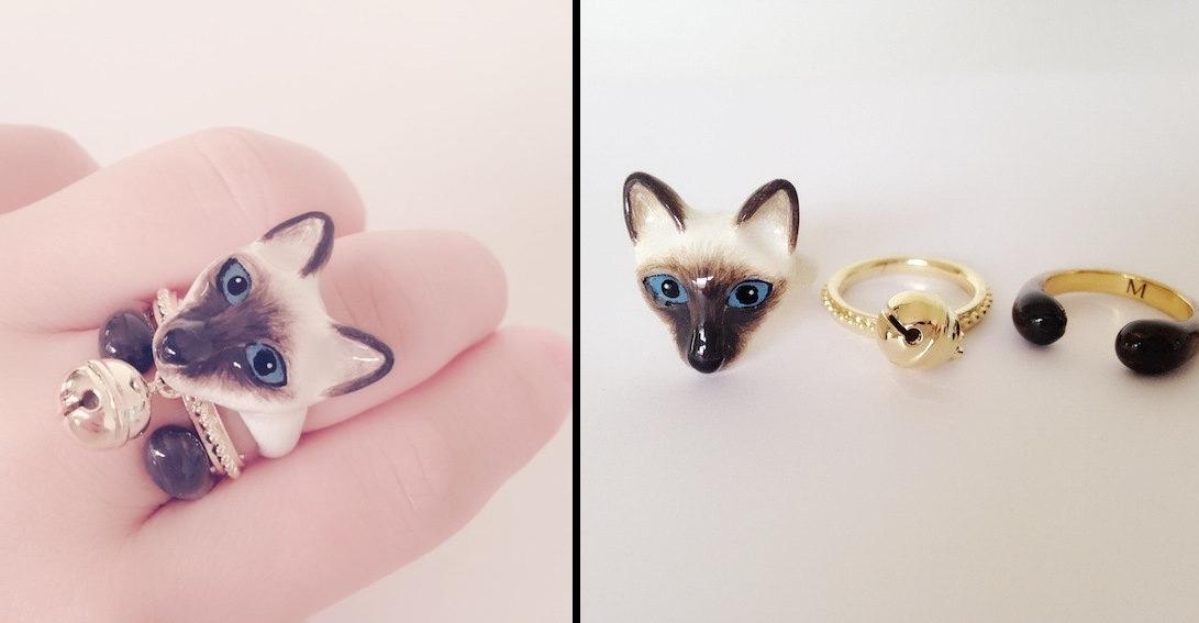 10-Siamese-Cat-Mary-Lou-Three-Piece-Animal-Jewellery-Rings-www-designstack-co