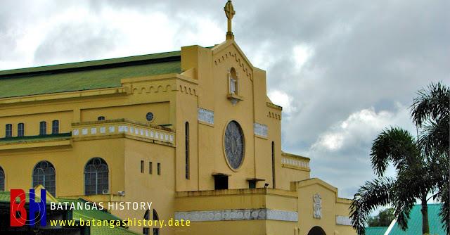 The Carmel church in Lipa City, Batangas.