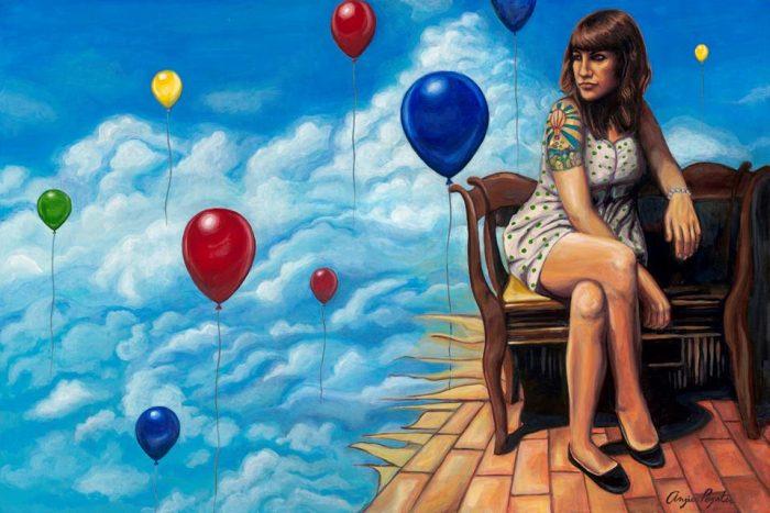 Красочный мир. Angie Poynter Rehnberg